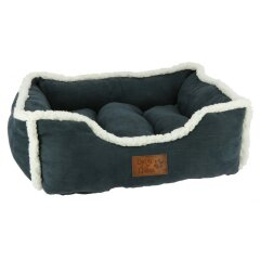 Diego & Louna - Velvet Dogbed small